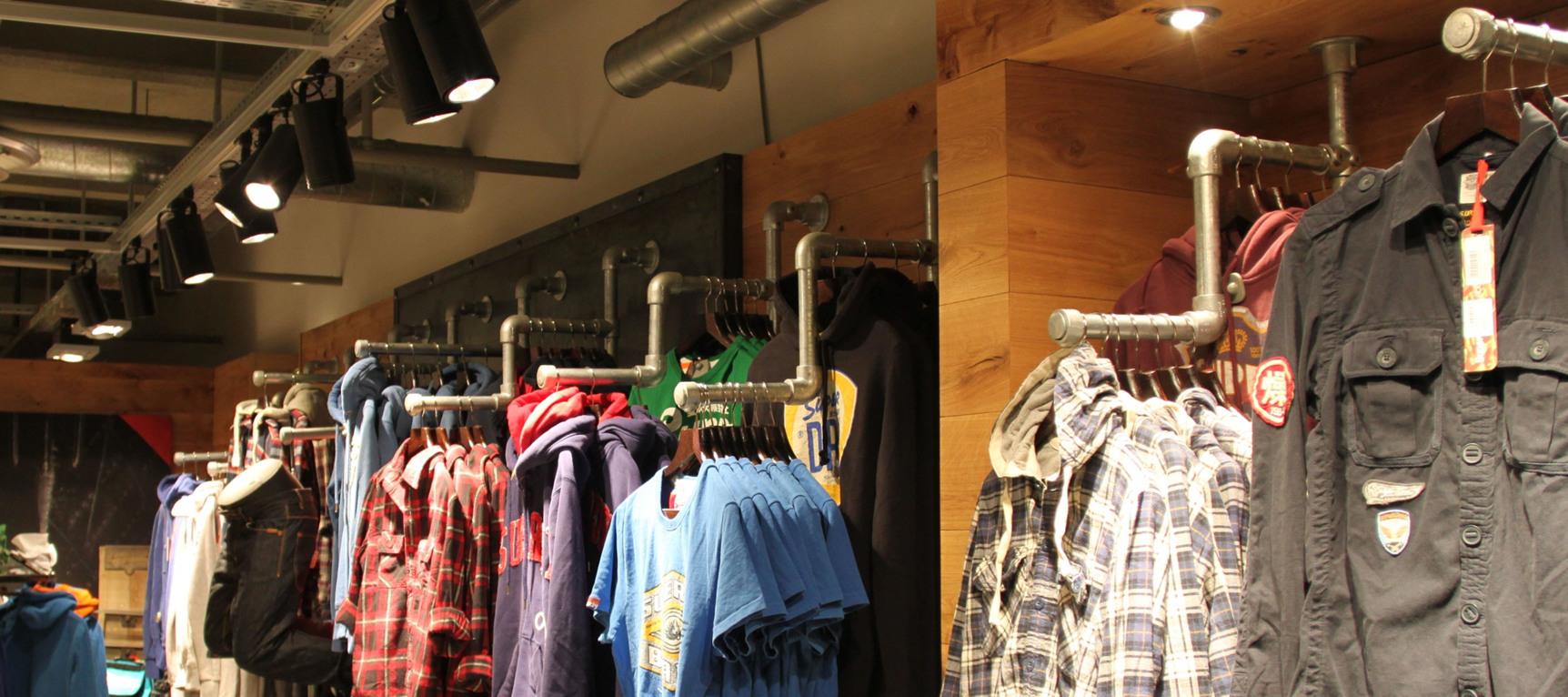 Display Clothing Racks