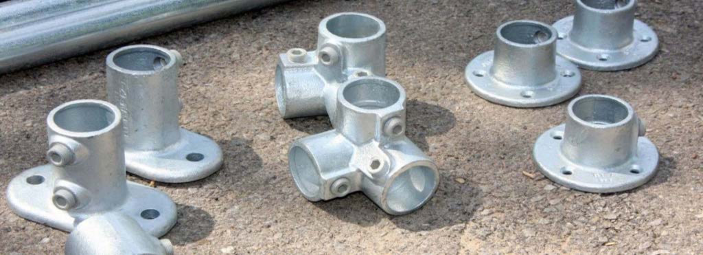 Buy structural pipe fittings slip on railing