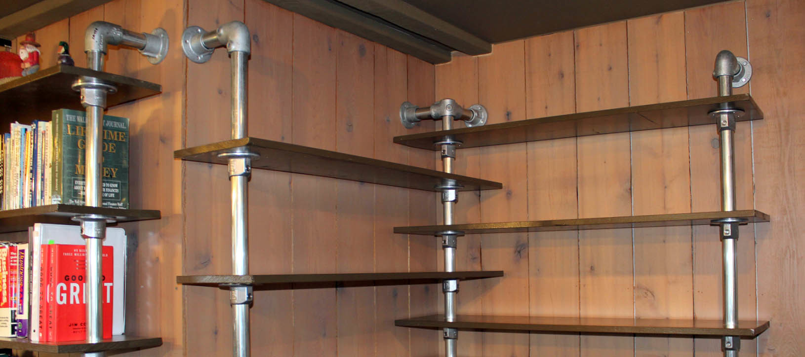 Industrial Steel Pipes : Diy pipe furniture ideas industrial inspiration
