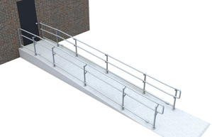 Top/Mid/Bottom ADA Railing