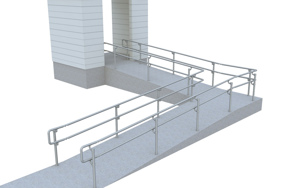Top/Mid ADA Ramp Railing