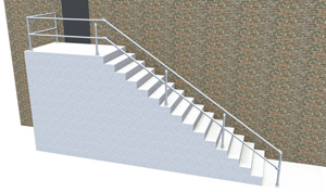ADA Stair Railing