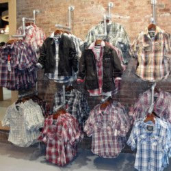 Clothing Store Displays