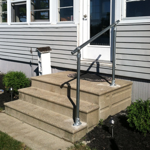 Outdoor Stair Railing Kit - Buy Step Handrail Online | Simplified ...