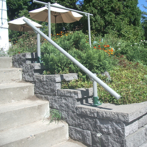 Outdoor handrails in wrought Iron and steel | Topp and Co