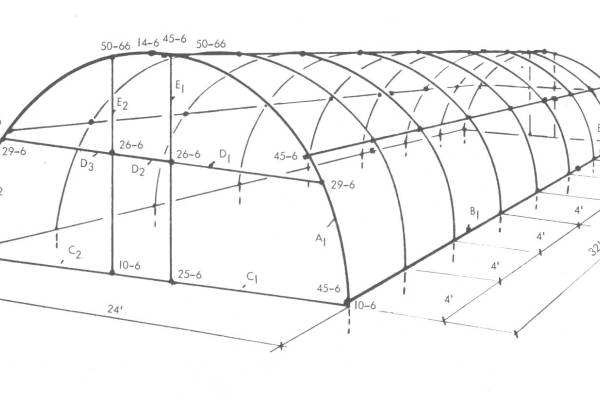 quonset style greenhouse plans