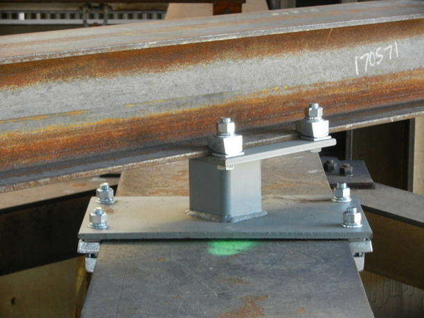 Engineered Steel I Beam Connectors And Steelwork Fasteners