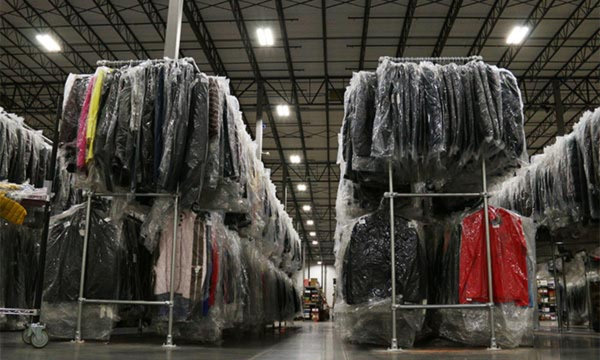 Store Thousands of Garments