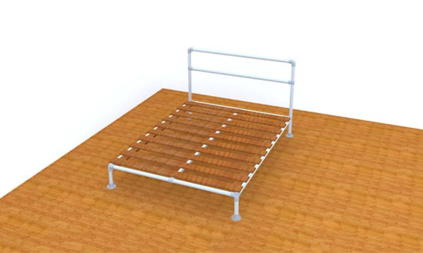 Buy Pipe Bed Frame Kits - Twin, Full, Queen & King Sizes Available ...