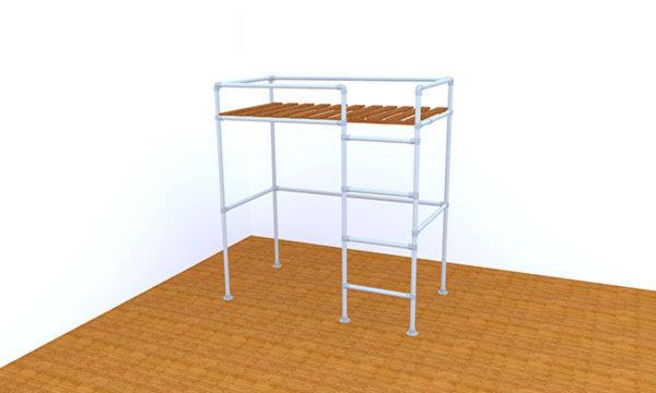 San Francisco Loft Bed Frame