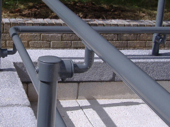 Kee-Access ADA Handrail Fittings