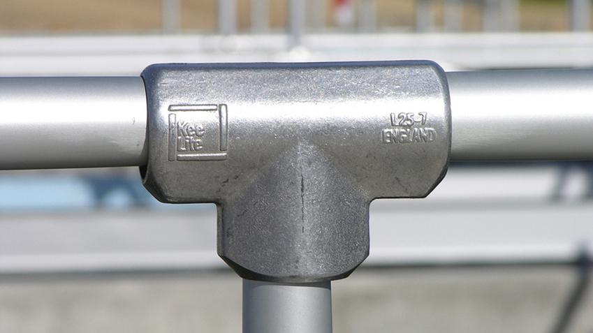 Simplified building kee klamp lite pipe fittings