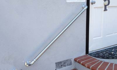 Wall Mounted Stair Handrail Kits