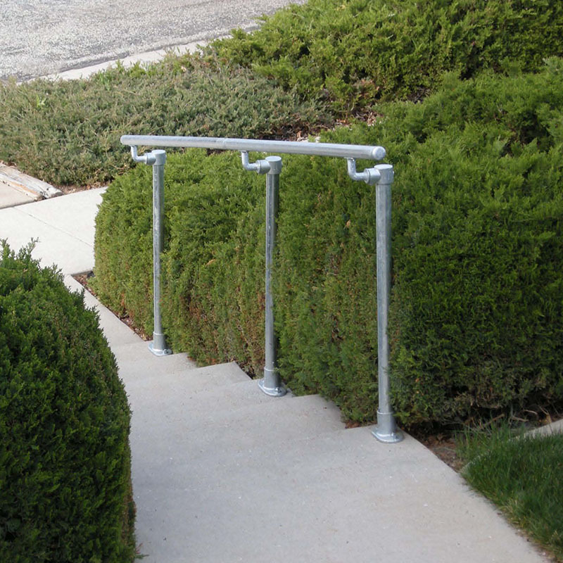 Outdoor Handrail Kits : Stair railing kits that are simple to install simplified