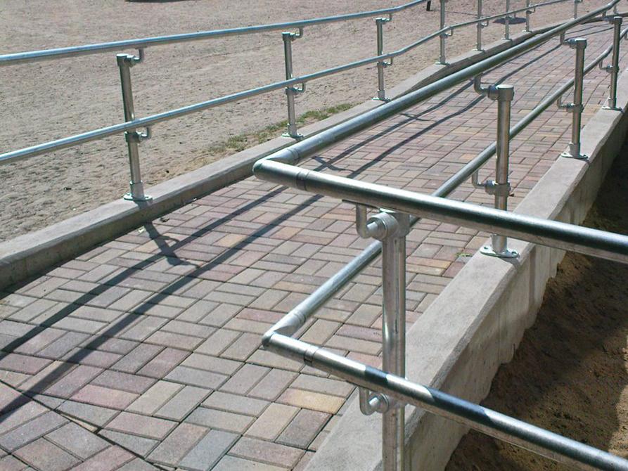 ADA Pipe Railing Fittings