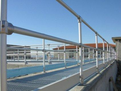 Aluminum Pipe Railing Fittings