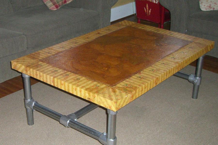 Kee Klamp Coffee Table (IKEA Hack)