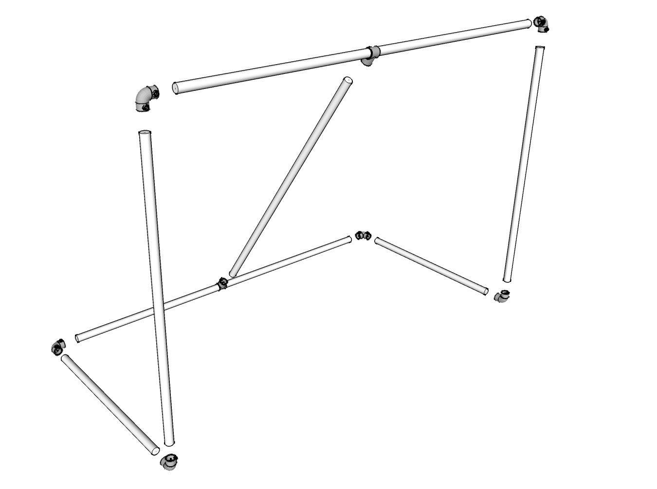 Build A Steel Hockey Goal Complete Diy Plans Simplified Building