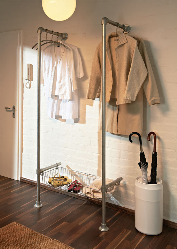 Modern Coat and Shoe Rack