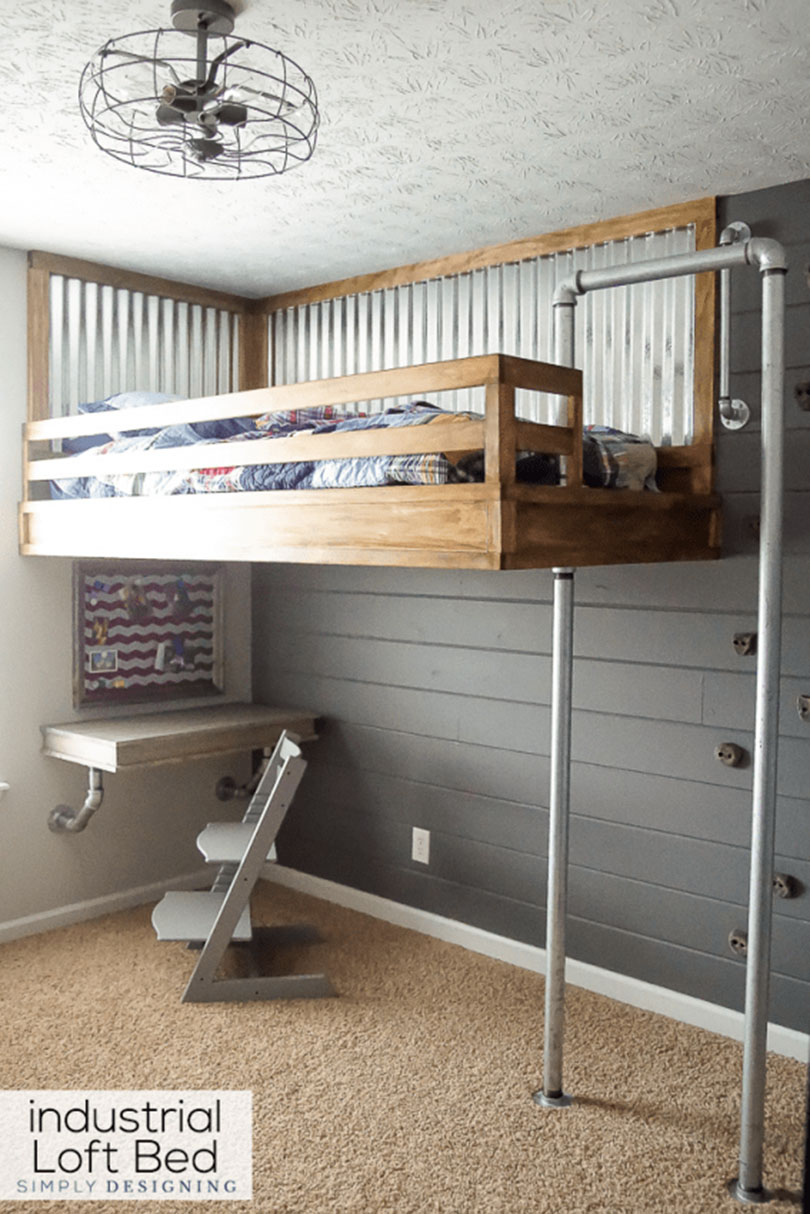 Picture of: 35 Bunk Bed Ideas That You Can Build Yourself Simplified Building