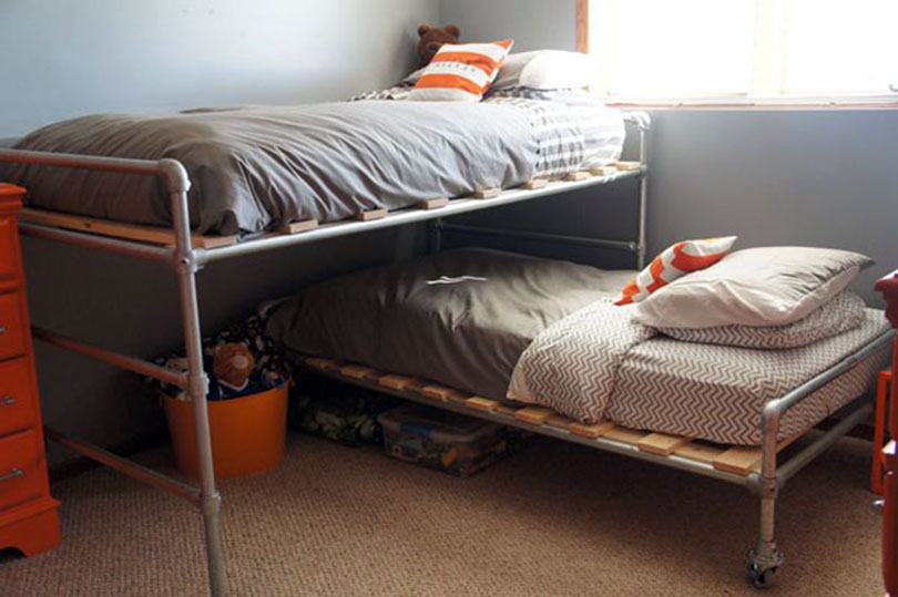 intersecting bunk bed