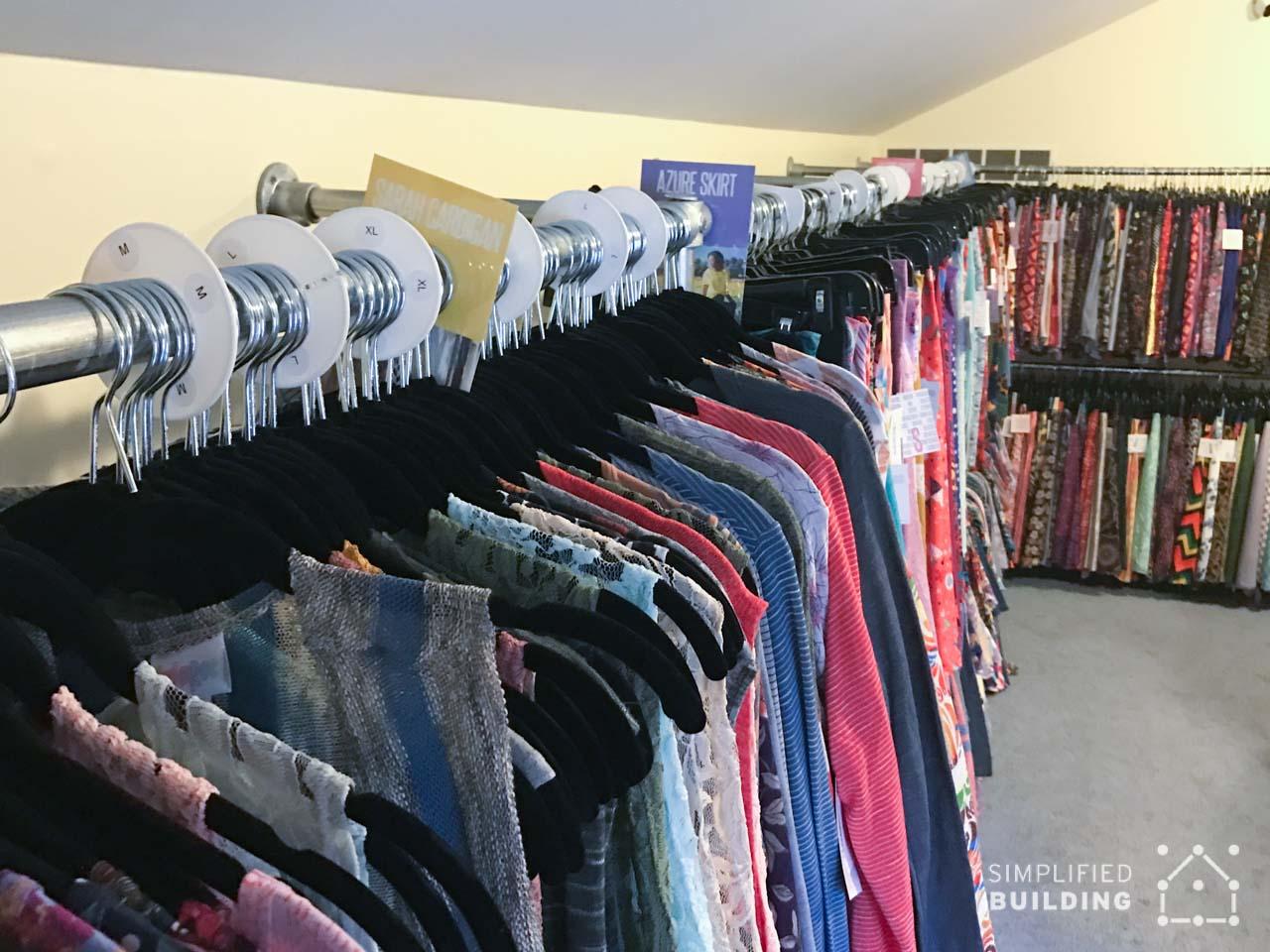 Retail Clothing Racks for LulaRoe Seller