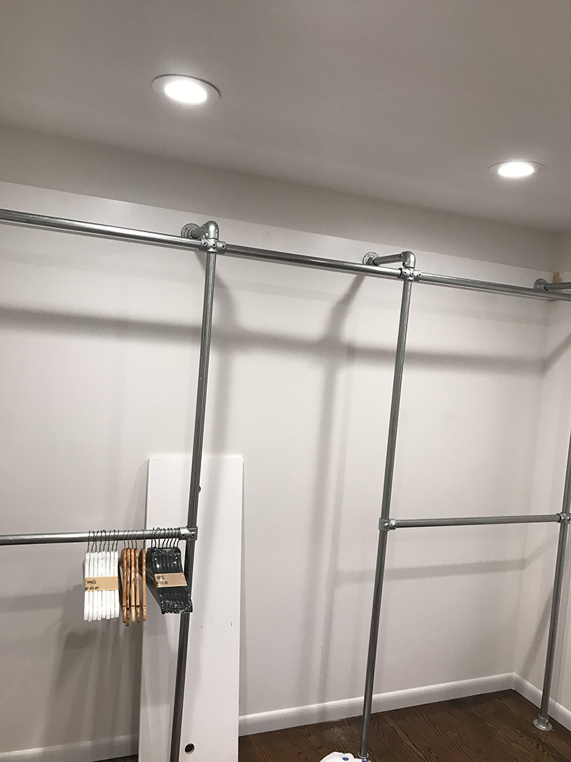 44 Diy Closet Ideas Built With Pipe Amp Fittings