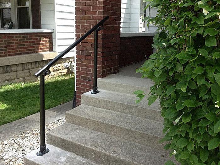 powder coated sturdy handrail