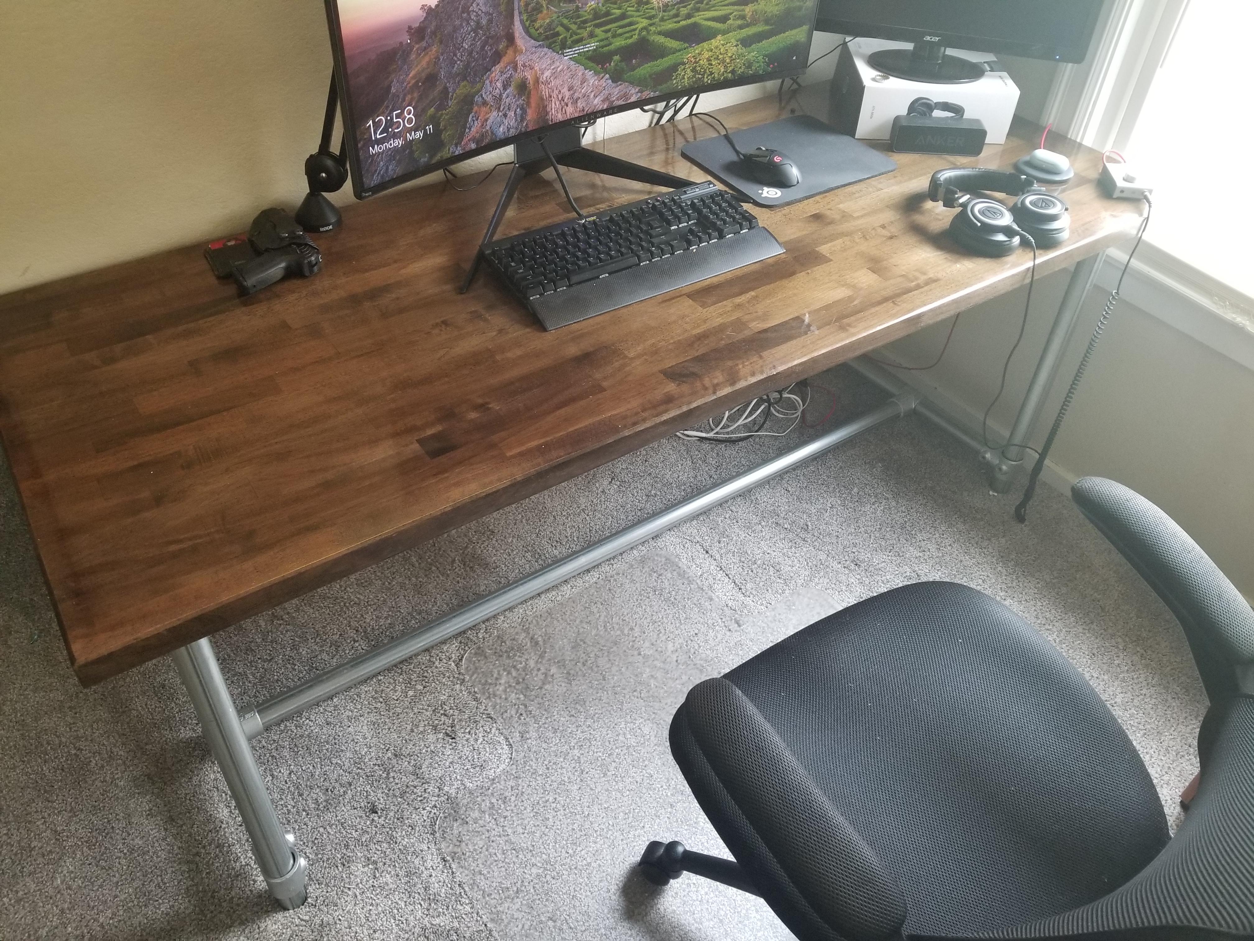 Elegant Walnut Desk