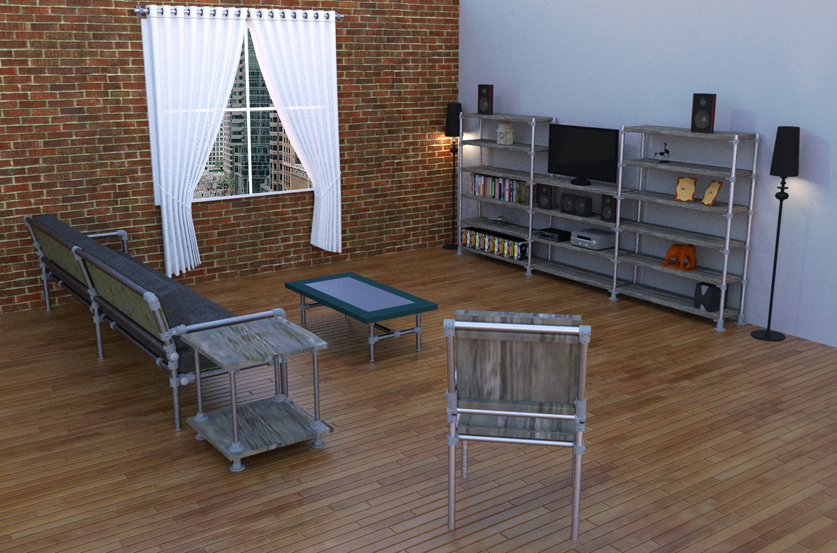 Living Room Rendering