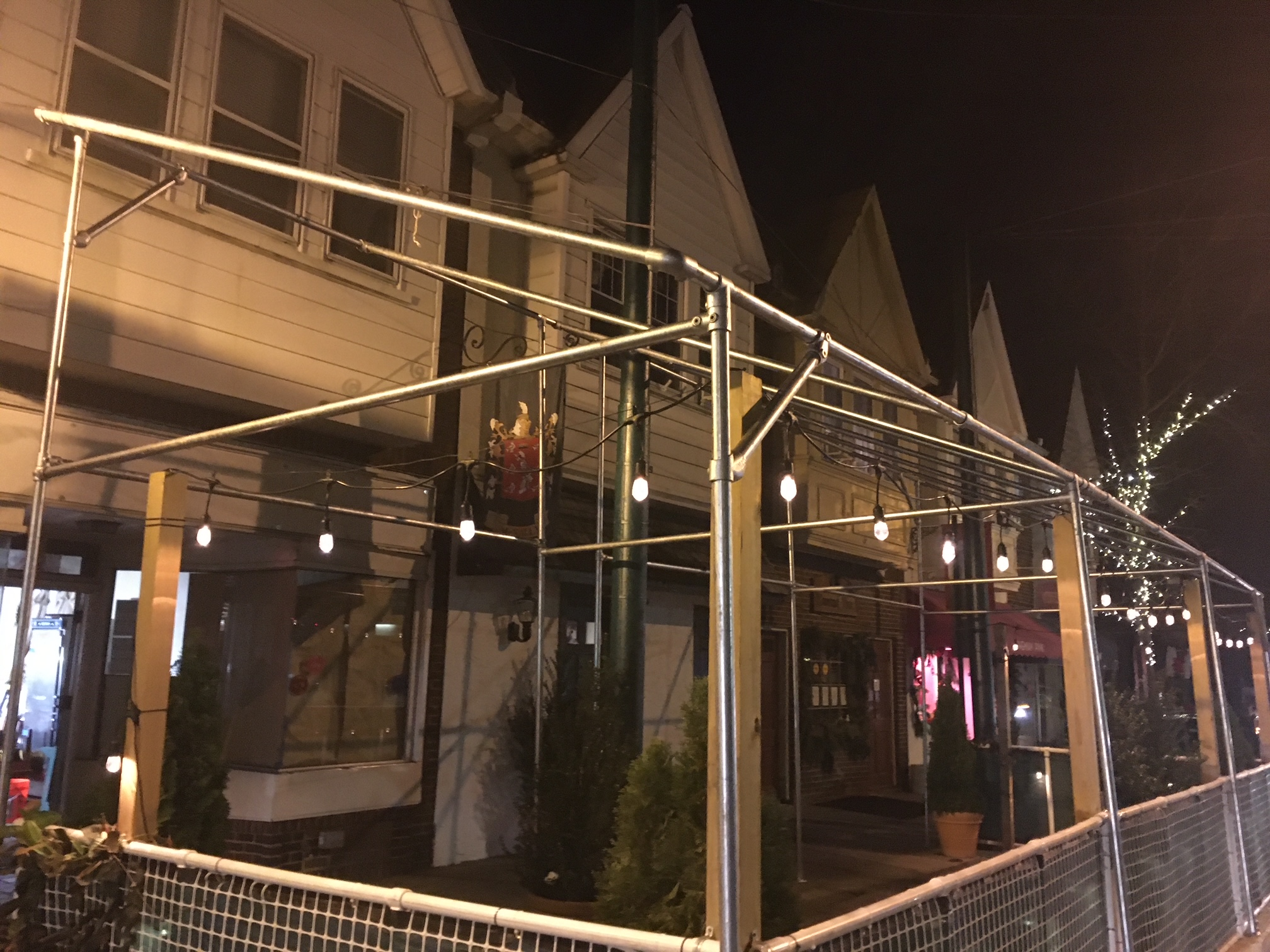 Awning Without Fabric