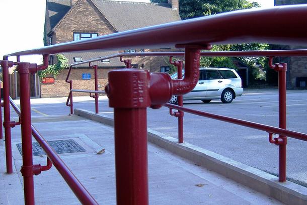 Handicap Handrails
