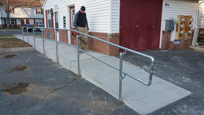 DIY Handrail