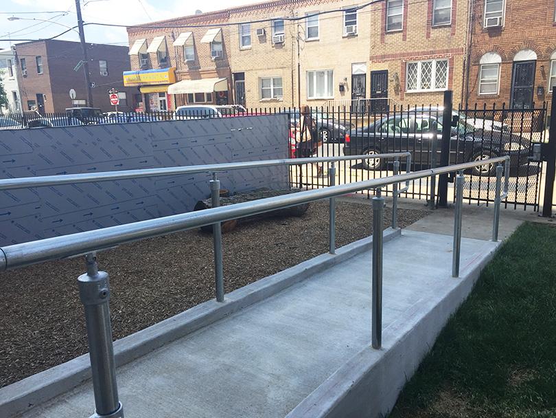 Ramp Handrail