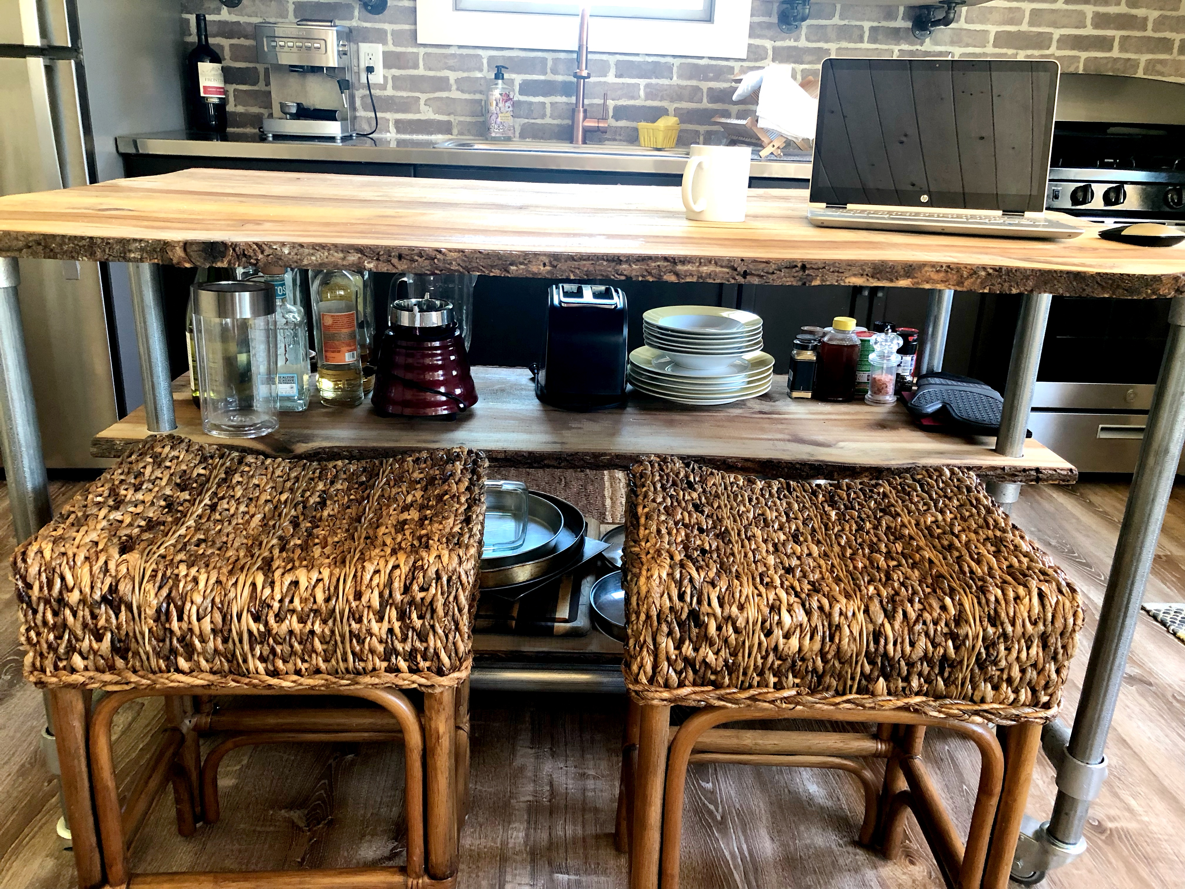 Beautiful Kitchen Workspace