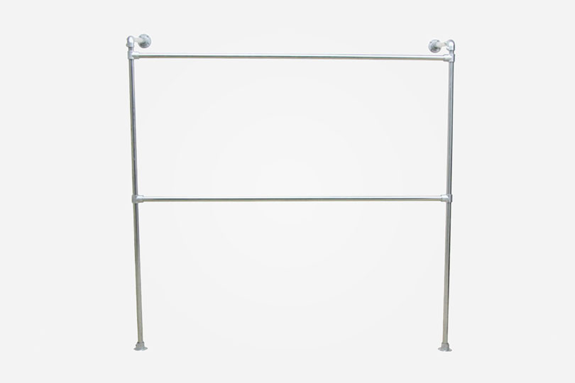 Double Wall Mounted Clothing Rack