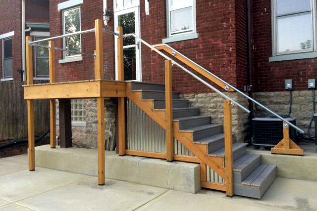 Raised Porch Railing
