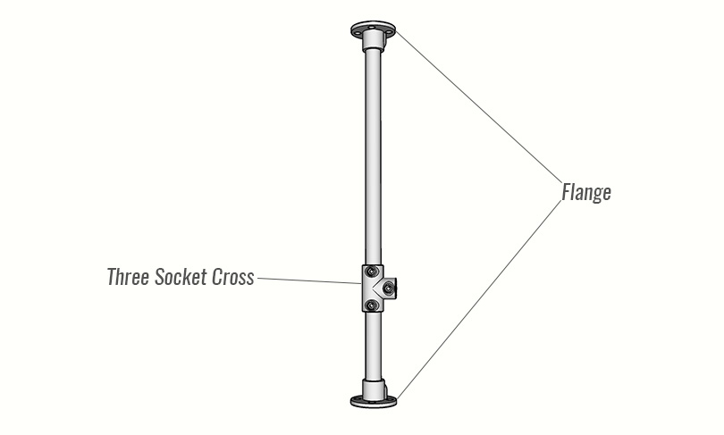 DIY Bar Stool Framework