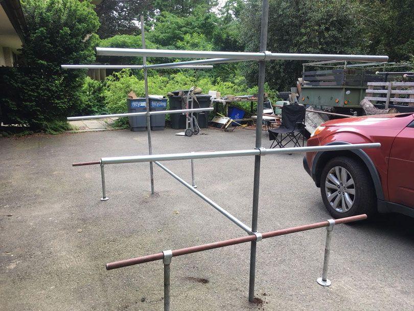 DIY Boat Rack