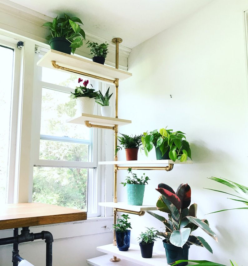 diy corner shelf idea 0 16