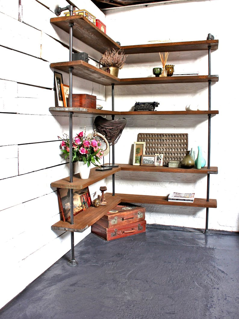 diy corner shelf idea 0 23