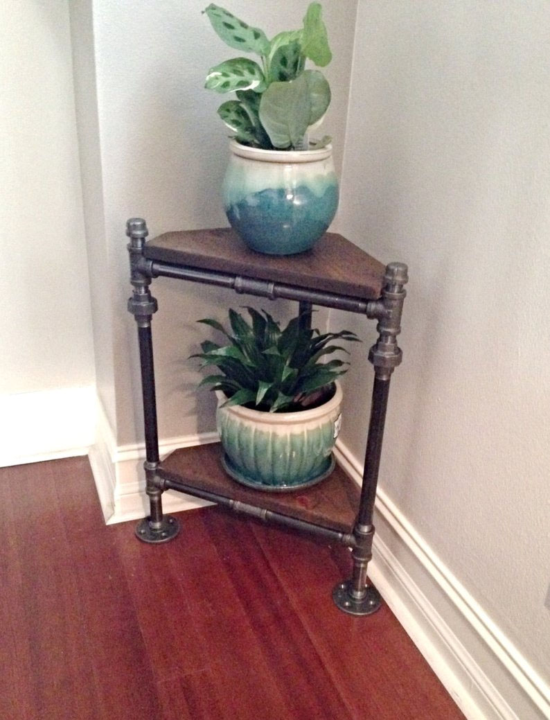 diy corner shelf idea 0 24