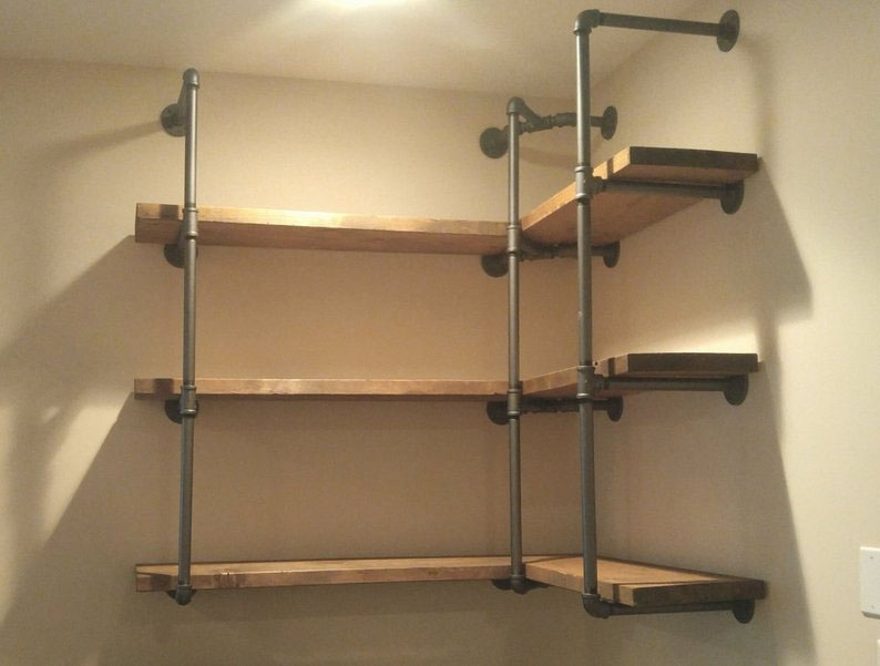 diy corner shelf idea 0 8