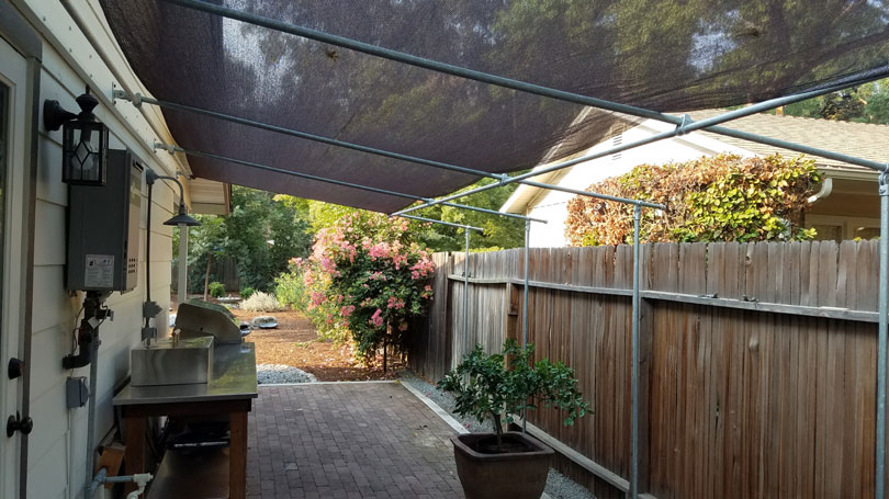 DIY Deck Canopy