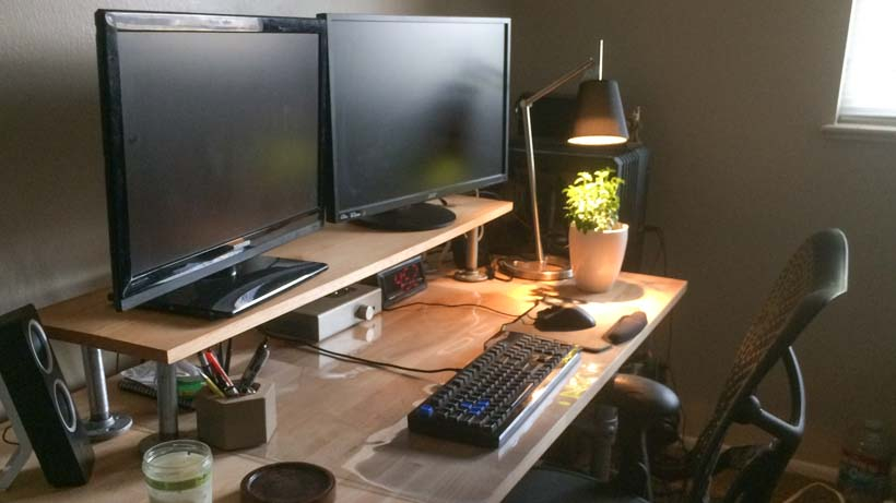 DIY Desk Riser for Monitor