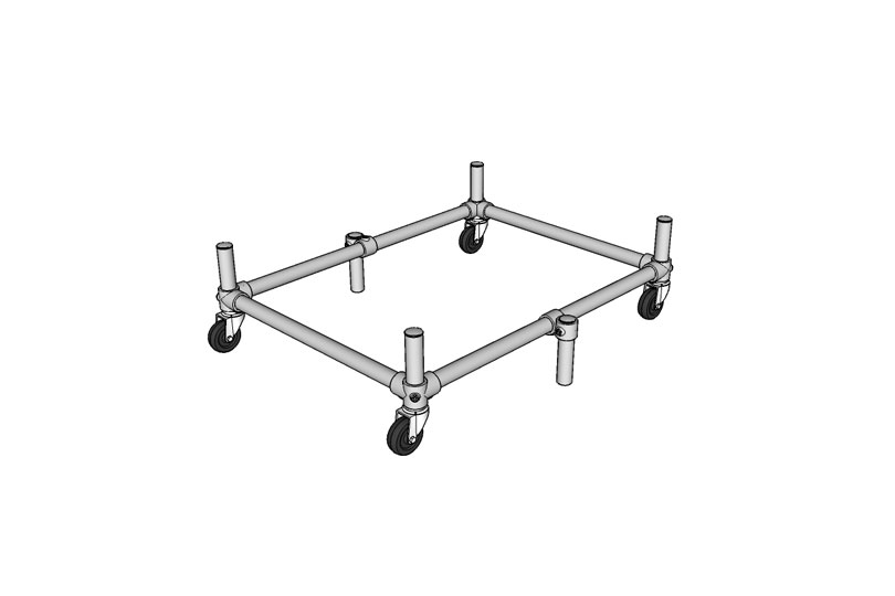 DIY Dolly Cart - Diagram