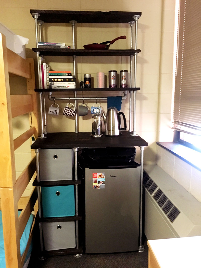 DIY Storage Unit for Dorm