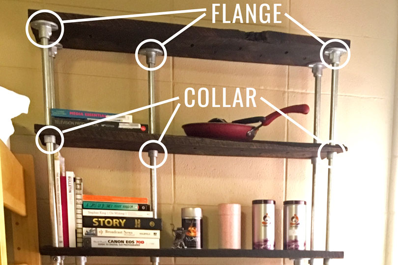 DIY Storage Unit for Dorm - Diagram