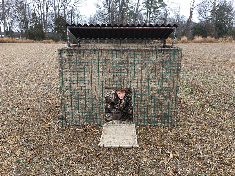 DIY Portable Hunting Blind - Built with
