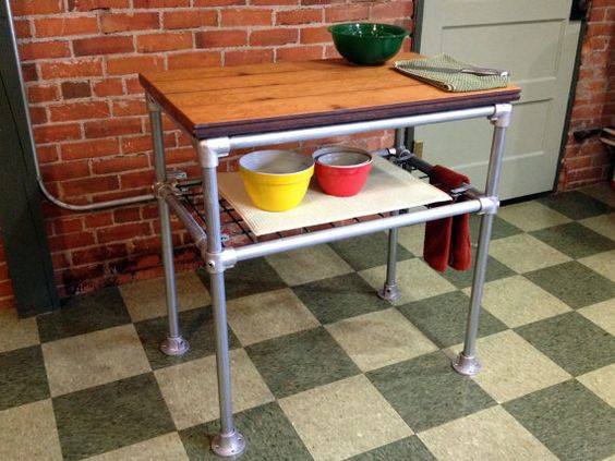 DIY Kitchen Island Ideas That You Can Build Yourself Simplified - Etsy kitchen island
